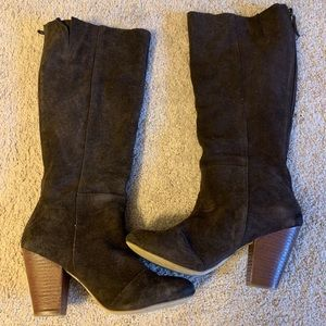Shoes - Heeled knee high boots